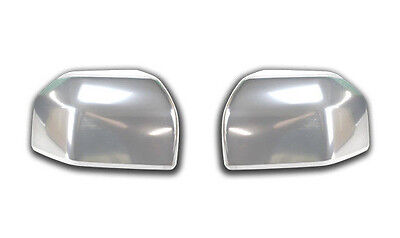 Oem New   Ford F  Chrome Standard Mirror Cover Caps Pair