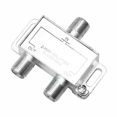 AU12 • Buy 10 X 2 Way TV Satellite Splitter Combiner F-type 5-1000Mhz
