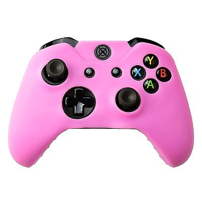 AU13.90 • Buy Silicone Soft Case Protect Skin For Xbox One Wireless Controller Light Pink