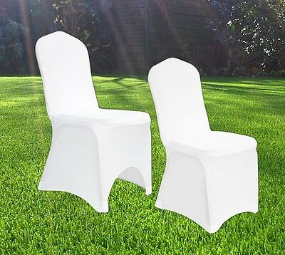 £199.99 • Buy Spandex Stretch Wedding Chair Cover Covers Banquet Anniversary Party Decor