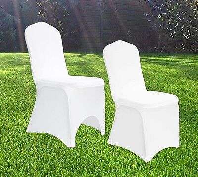 £169.99 • Buy Spandex Stretch Wedding Chair Covers Banquet Anniversary Party Decor