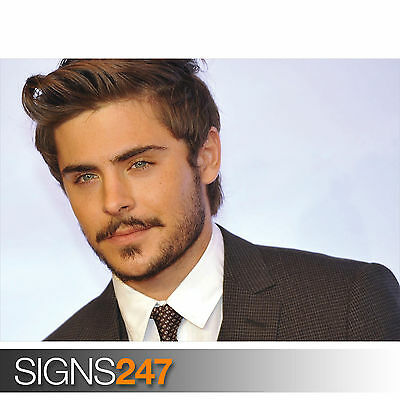 ZAC EFRON (2063) Celebrity Poster - Picture Poster Print Art A0 A1 A2 A3 A4 • 6.25£