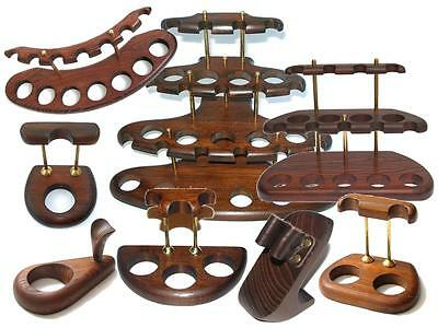 £21.99 • Buy Brand New Wooden Smoking Pipe Stand Rack Holder Display Accessories For Pipes