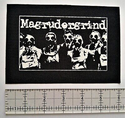 $4.99 • Buy Magrudergrind Patch Punk Crust Doom Man The Bastard Kill The Client Hellnation