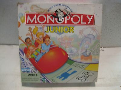 Classic Monopoly Juinor 1999 Board Game From Parker Brothers For Hasbro     Gm89 • 6.34£