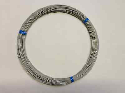 £31.49 • Buy 50 MTRS Of  Poly Coated Flex Weave  Antenna/ Aerial Wire Ham Amateur Radio Use