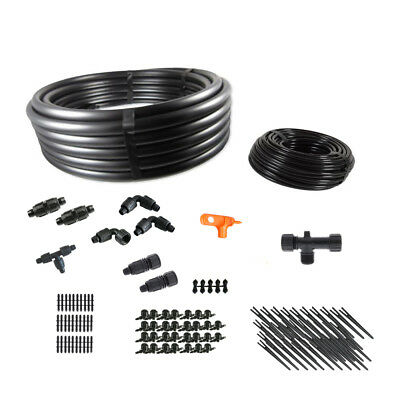 Deluxe Gravity Feed Drip Irrigation Kit For Dirty Water • 51.16£