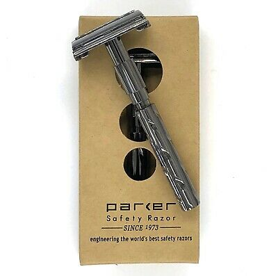 AU41.95 • Buy Parker Safety Razor 22r + 5 * FREE * Shark DE Blades And * FREE * Delivery