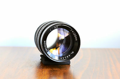AU129.95 • Buy KIMUNOR 135mm F/3.5  For Pentax M42 Screw Mount W/ Leather Case *Smooth Aperture