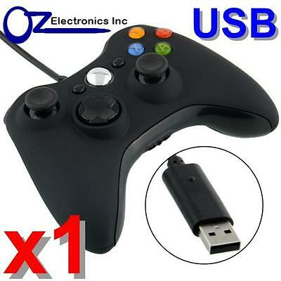 AU40 • Buy USB Wired Game Pad Controller Joypad For XBOX 360 Slim PC Windows 7 8 Windows 10
