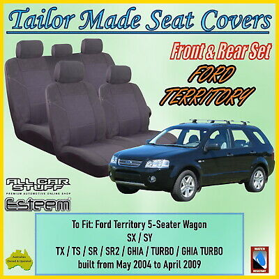 AU139 • Buy Tailor Made Seat Covers For Ford Territory SX (5 Seater) From 05/2004 To 04/2009