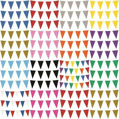 £3.99 • Buy 10m Colour Bunting 20 Flags Party Wedding Decoration Event Garden Home Outdoor