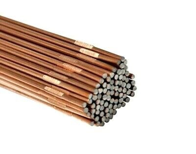 Gas Welding Rods for Copper Material UK 5//10//20X Copper Coated Mild Steel CCMS