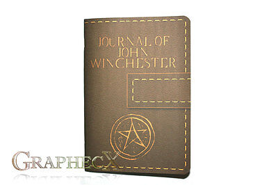 £7.72 • Buy Supernatural John Winchester Journal Inspired Personalized Notebook