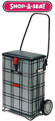 £76.99 • Buy Shop A Seat Escort 2 Wheel Pull Along Shopping Trolley STRONG & RELIABLE