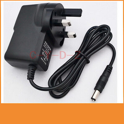 9V 500mA 0.5A Switching Power Supply Adapter AC 100V-240V  DC 5.5mm X 2.1mm UK • 3.23£