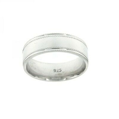 $10.60 • Buy Sterling Silver 925 Wedding Band Ring Mens Solid Comfort Fit Engagement Jewelry