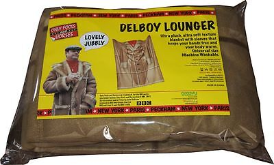 Only Fools And Horses Blanket With Sleeves Fleece Del Boy Lounger DISCOUNTED • 15.99£