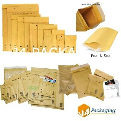 £18.95 • Buy Genuine Bubble Padded Envelopes Bags *all Sizes*