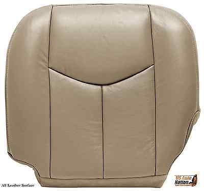 $97.48 • Buy 2004 2005 2006 Chevy Silverado 1500 2500 Driver Bottom Leather Seat Cover Tan