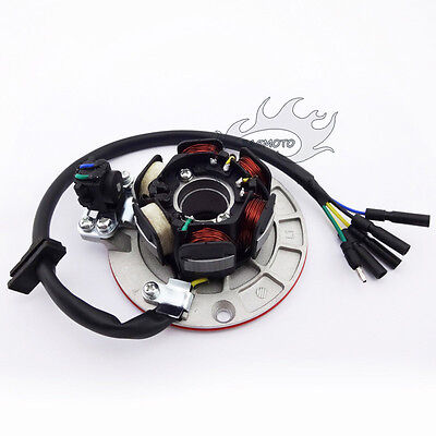 AU51.69 • Buy Motocross Magneto Stator W/ Light For Chinese YX 140cc 150cc 160cc Pit Dirt Bike