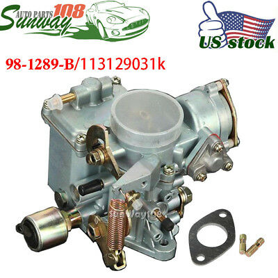 $59.99 • Buy For 1600cc 34 Pict-3 Type 1 Carb Carburetor Dual Port For Beetle Thing Bug