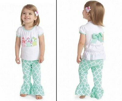£18.91 • Buy Mud Pie Easter Bunny Tunic And Legging Set 0-6 Months