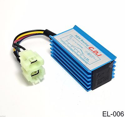$13.99 • Buy New Racing CDI Box For Scooter Moped Go Kart GY6 50 110 150cc A/C OUTPUT # EL-6