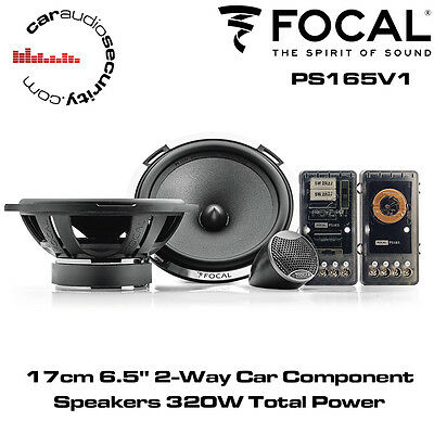 Focal PS165V1 -  17cm 6.5  2-Way Car Component Speakers 320W Total Power • 159.99£