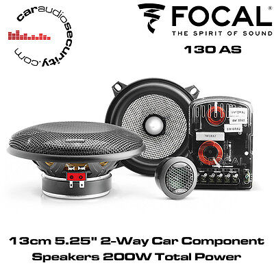 £99.99 • Buy Focal Access 130AS 13cm 5.25  2-Way Car Component Speakers 200W Total Power