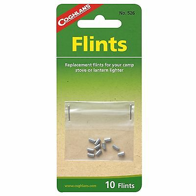$4.99 • Buy 10 Pack Replacement Flints, Works With Most Lighters And Strikers, Zippo's,stove