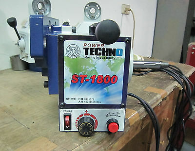 ST-1800 Power Feed Er Table Feeder Made In TAIWAN 850lb • 350£