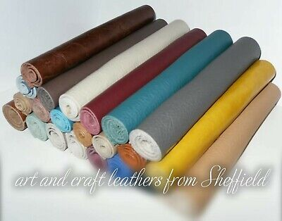 £1.99 • Buy 20cm X 6cm Real Leather Off Cut,remnant,sample,Clothing,Furniture & Patch Repair