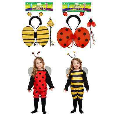 £4.99 • Buy Ladybird Bee Toddler Baby Fancy Dress Up Costume Antlers Wings Accessories Party