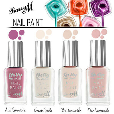 £4.29 • Buy Barry M Makeup Gelly Nail Paint Collection - Nail Varnish