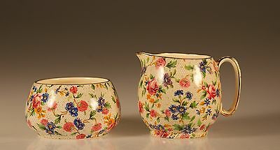 $ CDN87.47 • Buy Royal Winton Old Cottage Chintz Countess Creamer And Open Sugar Set, C. 1960