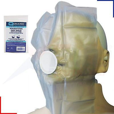 £1.79 • Buy Qualicare Mouth To Mouth Resuscitation Aid CPR Face Shield With Filter