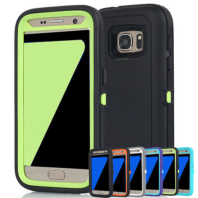 AU13.98 • Buy For Samsung Galaxy S9 S8 S7 Heavy Duty Shockproof Tough Armor Hard Case Cover