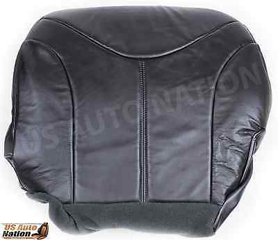 $100.49 • Buy 1999 2000 2001 2002 GMC Sierra Driver Bottom Leather Seat Cover Graphite Gray