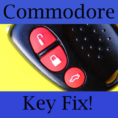 AU3.60 • Buy Holden Commodore Key Buttons VS VT VX VY VZ Red Set
