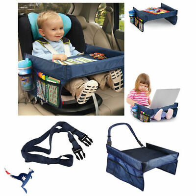 AU14.41 • Buy Waterproof Kids Baby Portable Safety Car Seat Lap Travel Tray Activity Table AU