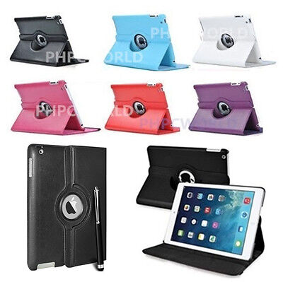 £4.79 • Buy UK New 360 Degree Rotating Leather Case Cover Stand For New IPad Mini 1/2/3/4