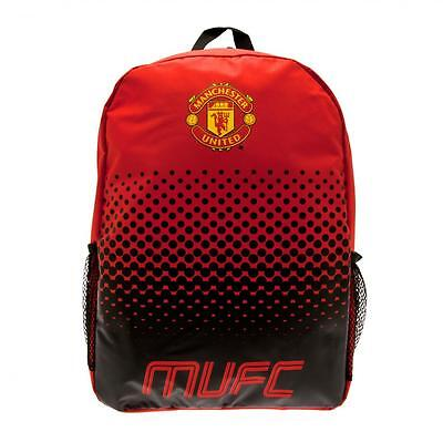 Manchester United F.C. Backpack   Official Merchandise   Fade     FREE (UK) P+P • 16.99£