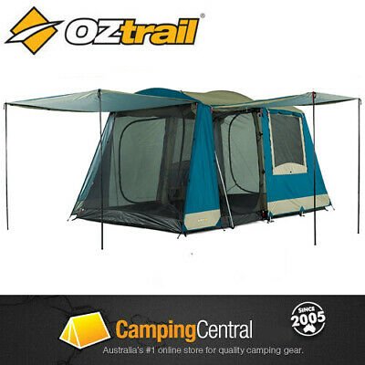AU219.95 • Buy Oztrail Sundowner 2 Room (6 Person) Family Dome Camping Tent