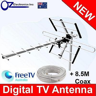 AU44 • Buy Digital TV Outdoor Antenna UHF VHF FM AUSTRALIAN Conditions Country And City Use