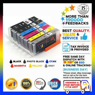 AU11.80 • Buy 6x NON-OEM Ink PGI670XL CLI671XL For Canon Pixma MG7760 MG7765 MG7766 MG576