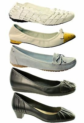 Rockport Womens Shoes / Flats~Various Styles~Rrp £30-£40~Sale~Leather~MV6 • 19.99£