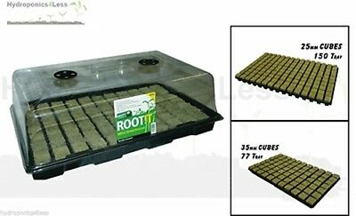 £17.99 • Buy ROOT IT Propagation 77 Or 150 Cultilene Cube Hydroponics Grow Seed Complete Kit