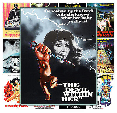 $ CDN13.12 • Buy Mini Posters [13 Posters 8 X11 /A4] Occult Thriller Horror Vintage Movie MP474