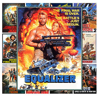 $ CDN12.91 • Buy Mini Posters [13 Posters 8 X11 /A4] Postapocalyptic Action Vintage Movie MP442